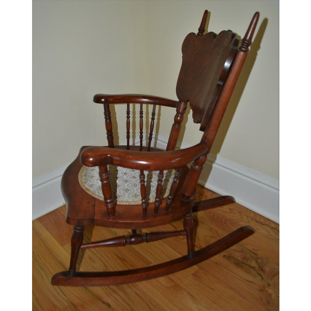 Traditional Child's Antique Victorian Rocking Chair For Sale - Image 3 ... - Child's Antique Victorian Rocking Chair Chairish