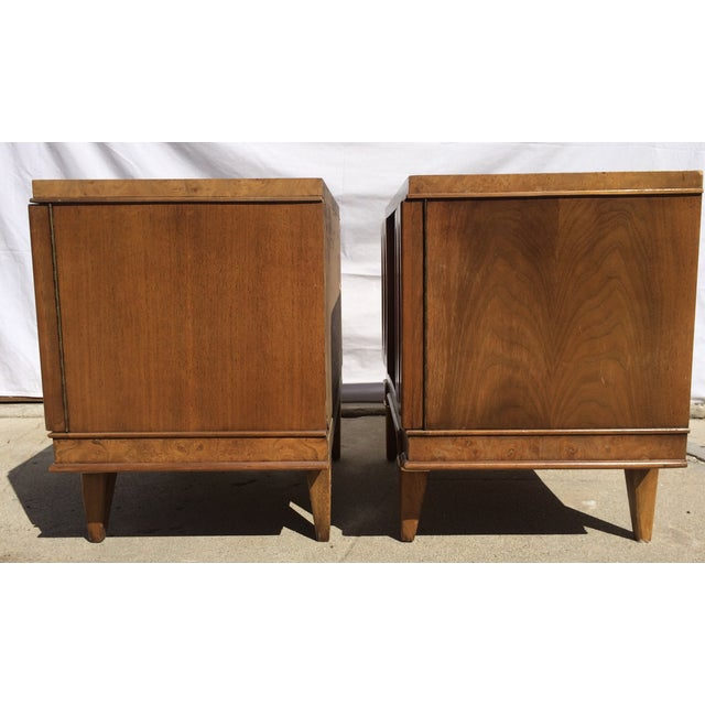 American Martinsville Mid-Century Side Tables Pair - Image 6 of 11