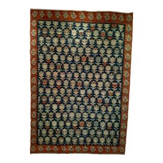 Vintage Kurdish Kilim - 5′10″ × 8′1″ For Sale