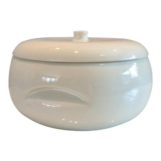 1950s White Russell Wright Covered Casserole For Sale