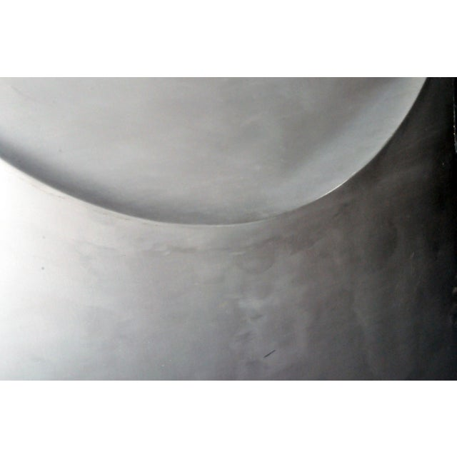 White Vintage Aluminum Wall Panels- Set of 9 For Sale - Image 8 of 10