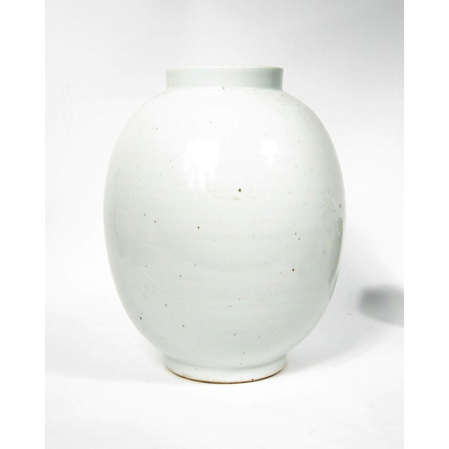 This large vessel makes a grand statement on its own. Also, this jar is beautiful for large floral arrangements or a...