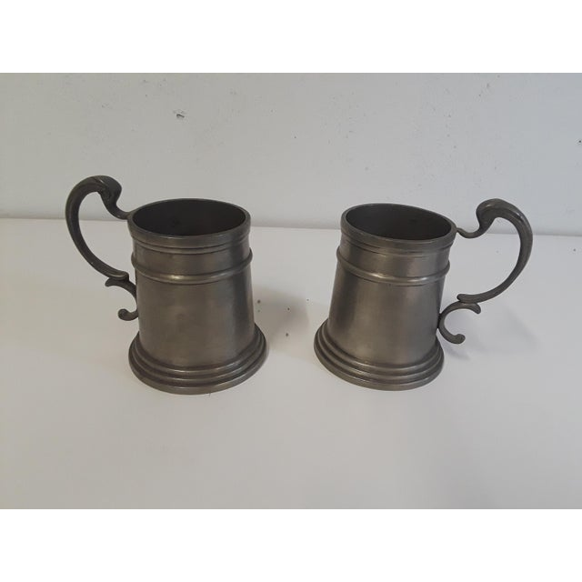 Vintage Pewter Drinking Cups - A Pair - Image 4 of 4