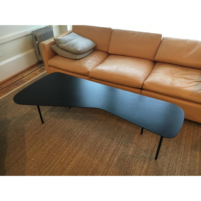 Girard coffee table by Alexander Girard for Knoll. Stylish 50's coffee table in striking ebonized mahogany finish with...