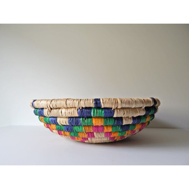 Multi-Color Seagrass Basket - Image 2 of 4