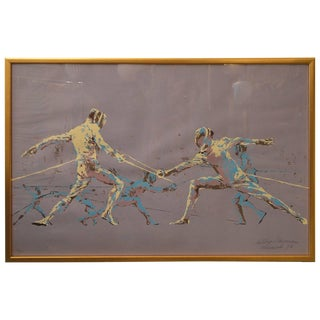 Leroy Neiman Fencers Print For Sale