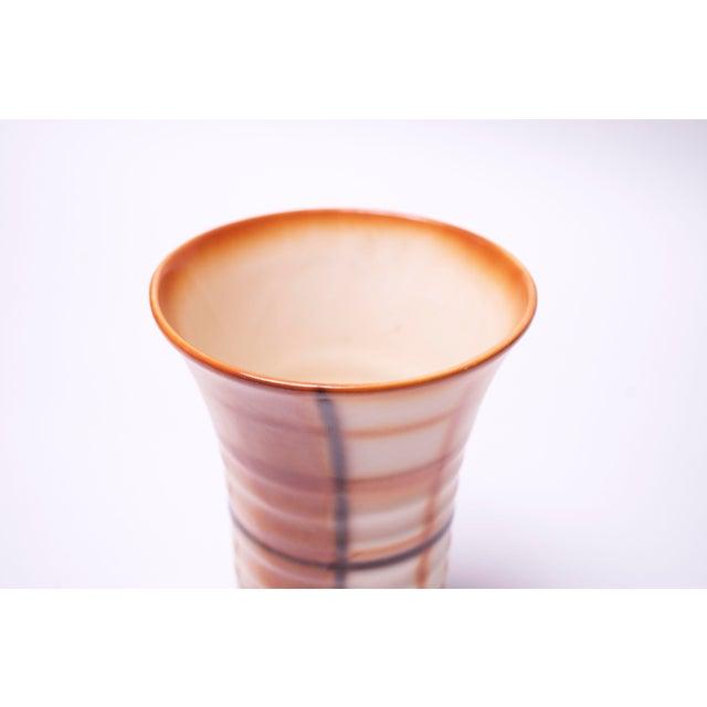 1940s Vintage Erphila Bohemian Art Pottery Vase For Sale - Image 5 of 10