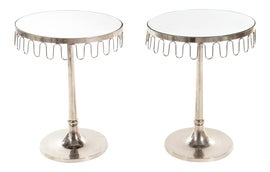 Image of Chrome Side Tables