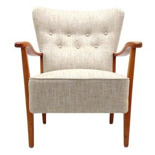 1940s Vintage Dux Danish Modern Armchair For Sale