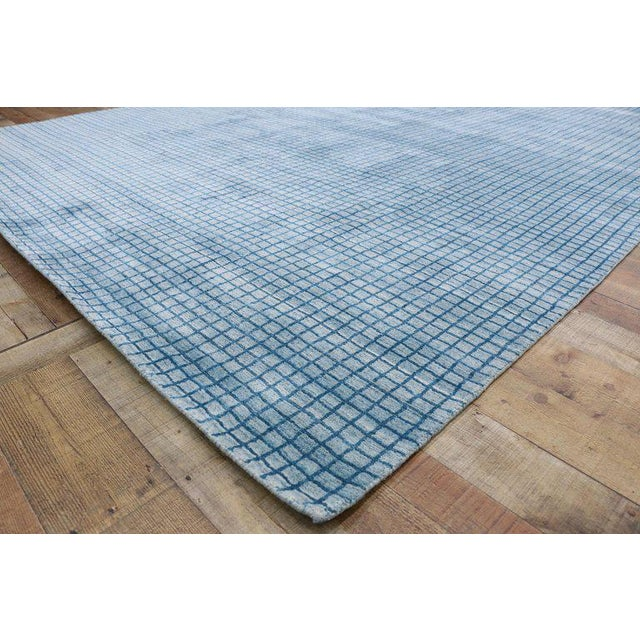 Early 21st Century Contemporary Beach Style Area Rug - 8′1″ × 9′10″ For Sale - Image 5 of 10