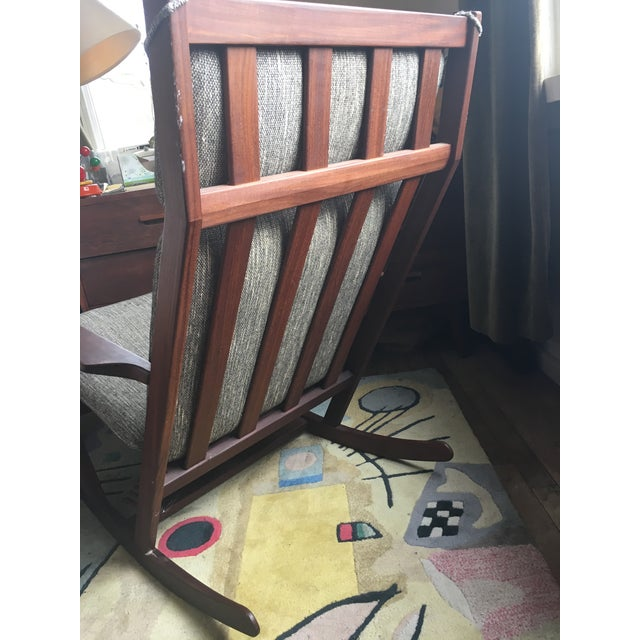 1960s Poul Volther Rocking Chair For Sale - Image 5 of 9