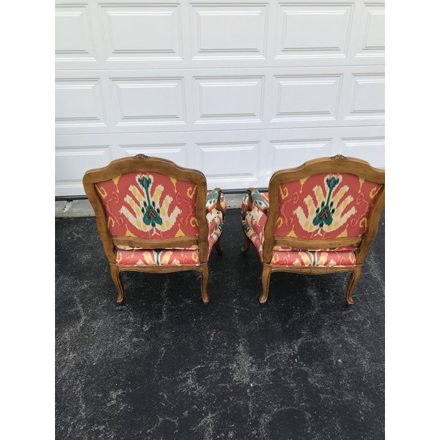 Baker Furniture Company 1980s Traditional French Baker Chairs - a Pair For Sale - Image 4 of 10