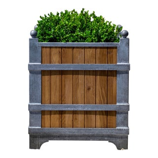 Chateau Oak Planter, Small For Sale