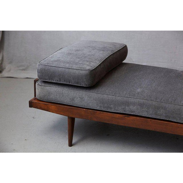 French Lit De Repos or Daybed by Melior Marchot, 1950s For Sale - Image 4 of 10
