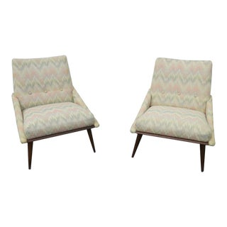 Mid Century Modern Living Bed Room Side Chairs by Kroehler - a Pair For Sale
