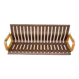 1960s Mid Century Bentwood Porch Swing For Sale