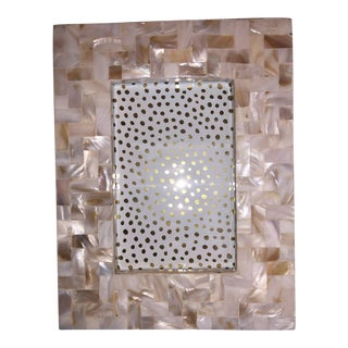Tozai Home Lamina Picture Frame With Herringbone Pattern For Sale
