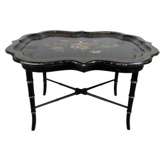 Mother of Pearl Painted Tray Table