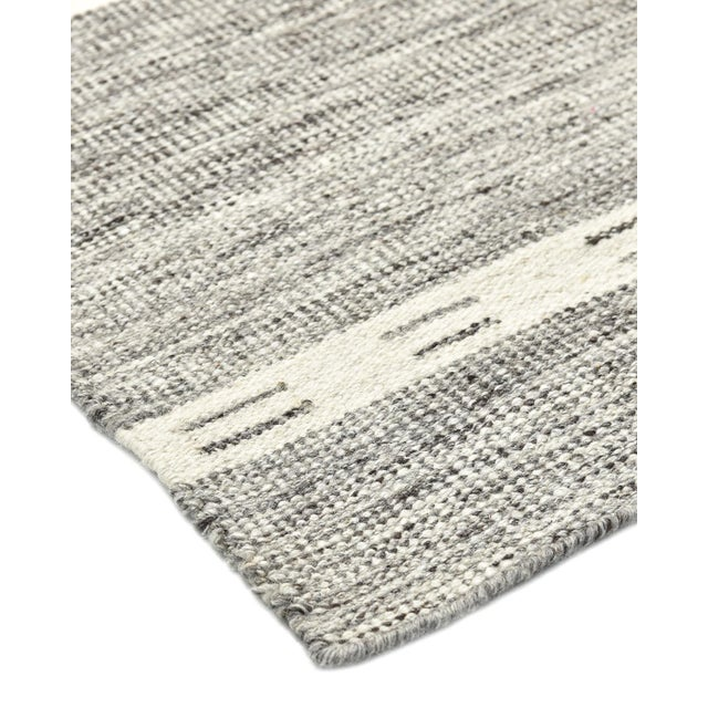Color: Gray. Made in: India. Durable and low-maintenance, flatweave rugs are especially popular for high-traffic rooms and...