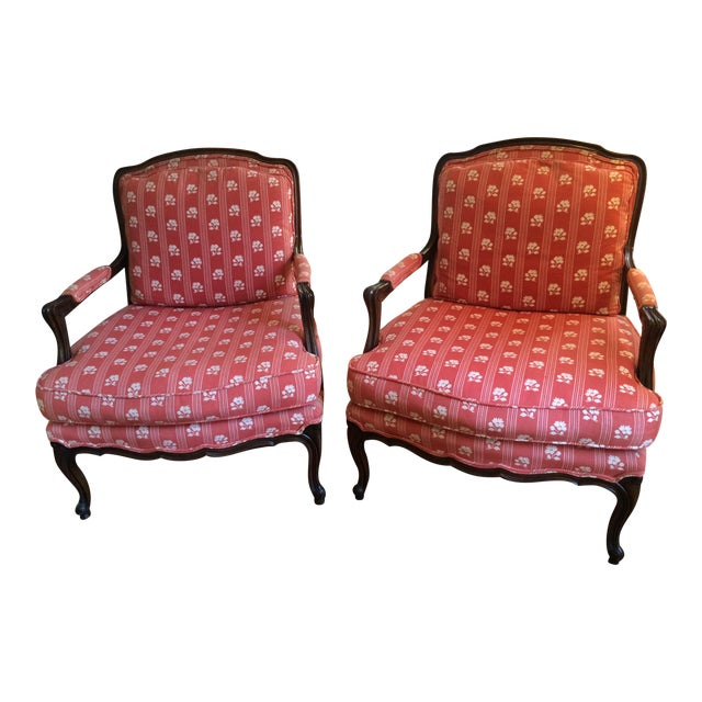 Baker Furniture Bergere Chairs - A Pair - Image 1 of 11