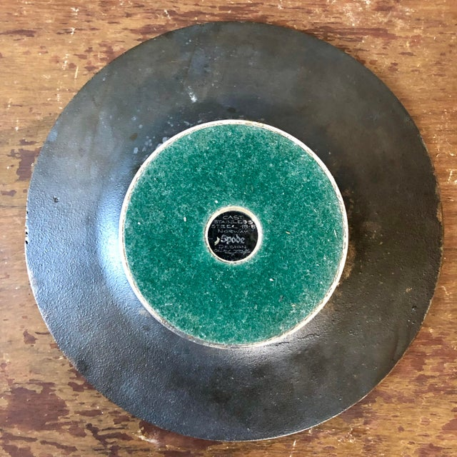 Abstract 1960's Olav Joff Norway Stainless Steel Bowl For Sale - Image 3 of 5