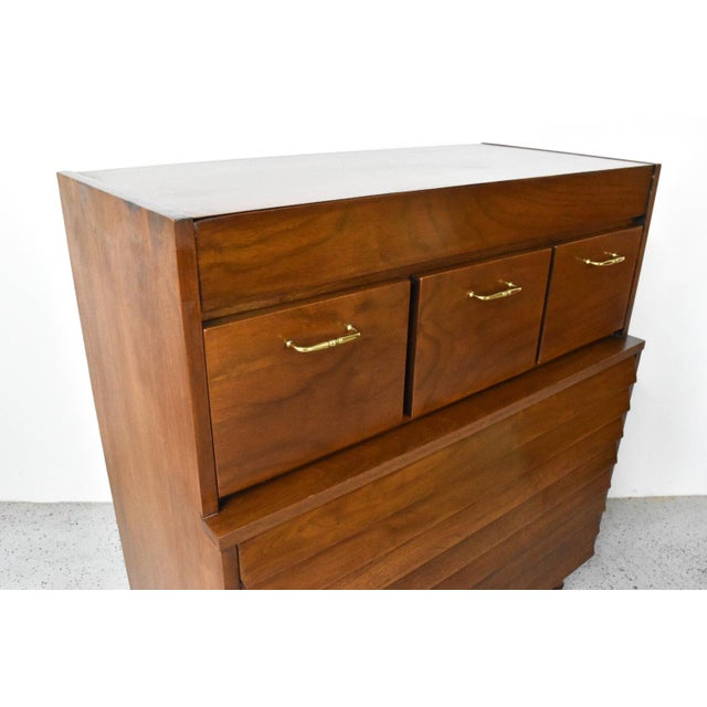 American of Martinsville Dania Highboy Chest - Image 5 of 10