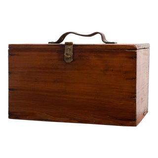 1930s Antique Wooden Box
