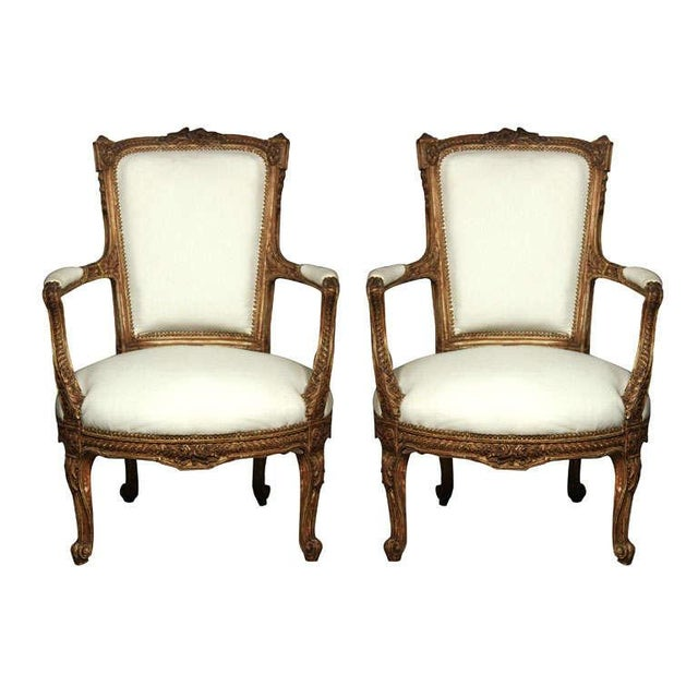 French Armchairs by Maison Jansen - A Pair For Sale