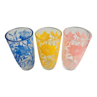Mid-Century Anchor Hocking Highball Glasses - Set of 3 For Sale