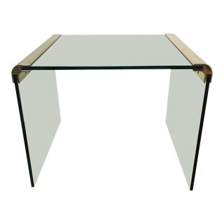1970s Pace Collection Waterfall Cocktail Table by Leon Rosen For Sale