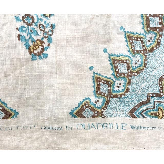 Quadrille Persepolis Fabric 6 5 Yards Chairish