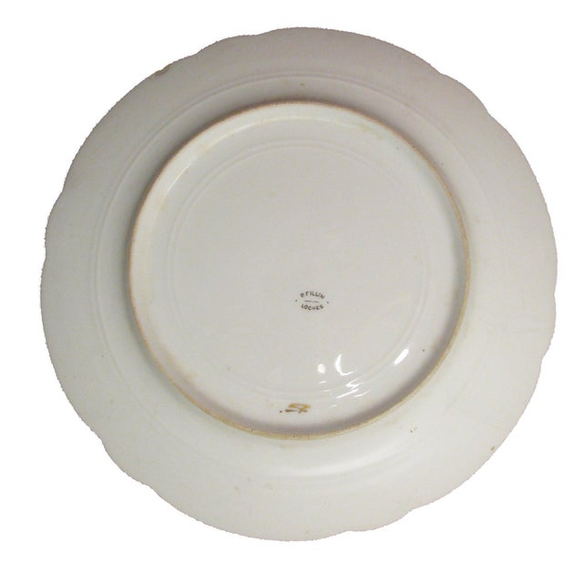 French Chateaux Plates - A Pair For Sale - Image 4 of 5