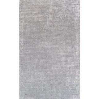 "Pasargad Texture Transitiona Bamboo Silk Rug - 5' 0"" X 8' 0"" For Sale"