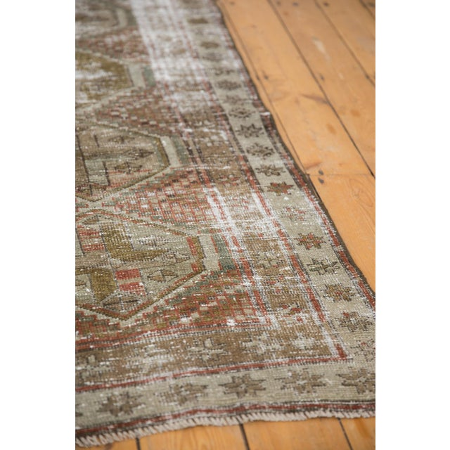 """Textile Vintage Distressed Caucasian Rug Runner - 2'9"""" X 11'1"""" For Sale - Image 7 of 13"""