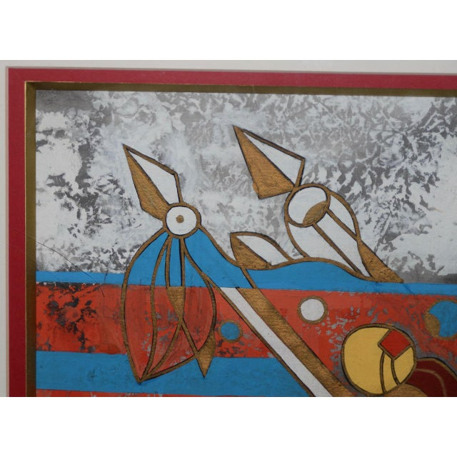 Chinese Painting by Qu Jian Xiong For Sale - Image 4 of 9