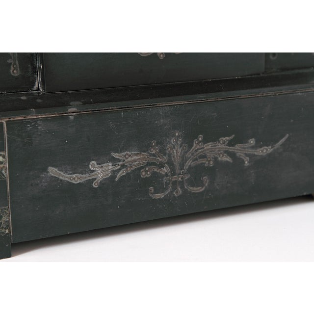 19th Century Victorian French Marble Mantel Clock For Sale In Dallas - Image 6 of 7