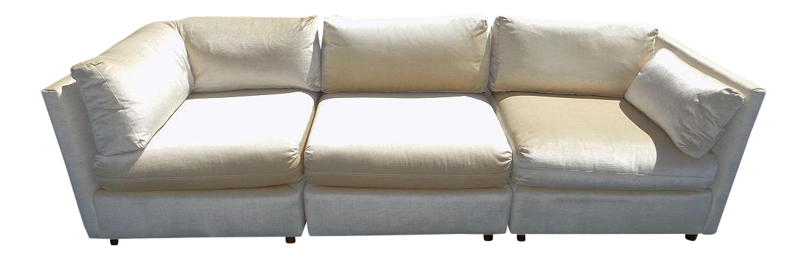Gentil Milo Baughman For Drexel Heritage Sectional Sofa   Image 1 Of 13
