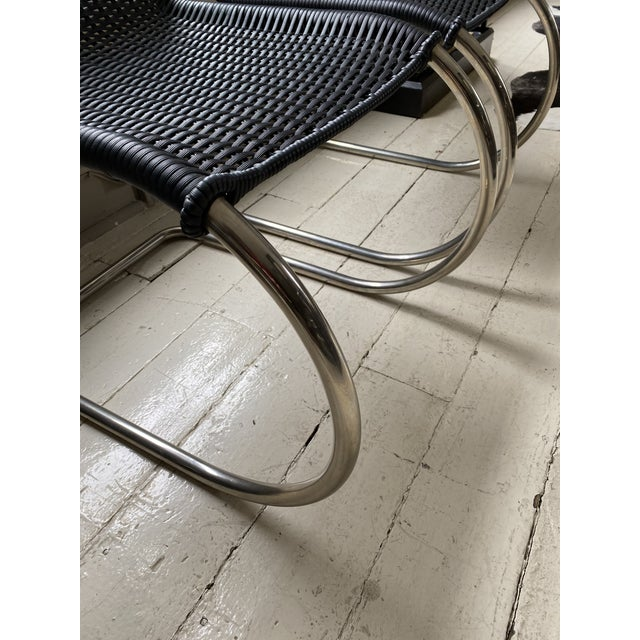 Mies Van Der Rohe Side Chairs- a Pair For Sale - Image 9 of 11