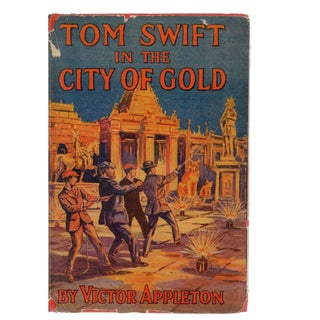 Tom Swift in the City of Gold Collectible Book For Sale
