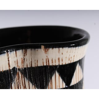 Mid 20th Century Bitossi for Goodfriend Italian Mid-Century Black and White Pitcher Preview