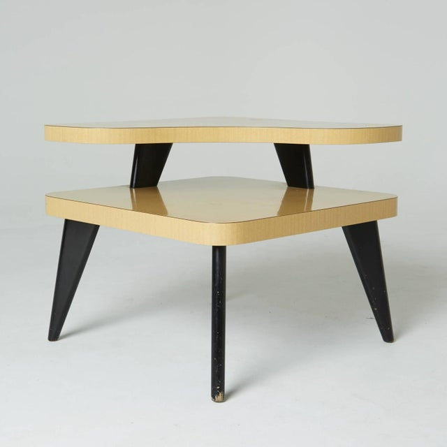 Two-Tier Mid-Century Side Tables - A Pair - Image 3 of 7