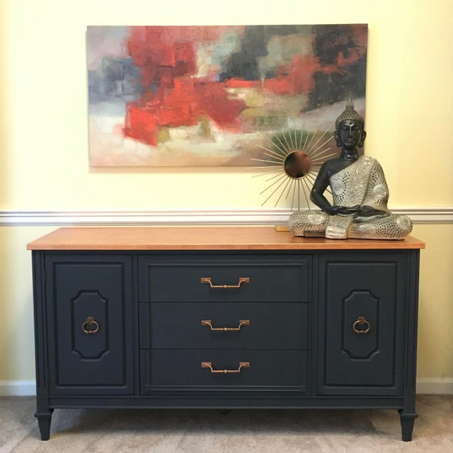 Midnight Blue & Copper Server - Image 2 of 7