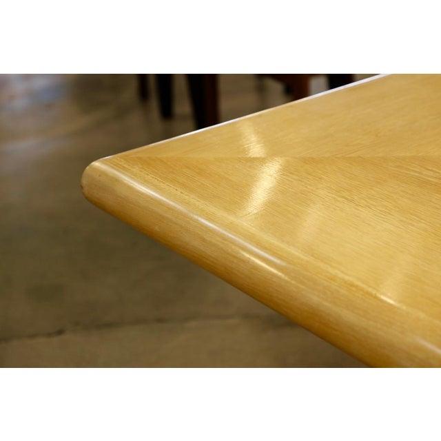 Art Deco Steve Chase Arthur Elrod Custom Dining Table For Sale - Image 3 of 12