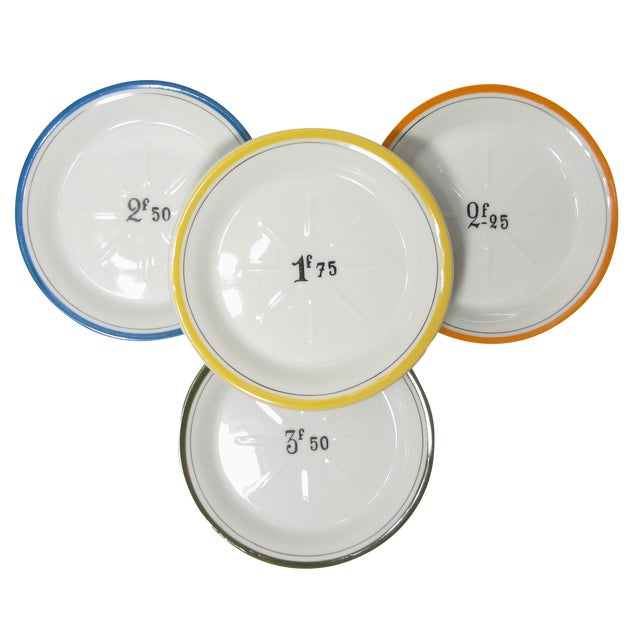 French Bistro Change Plates - Set of 4 - Image 1 of 3