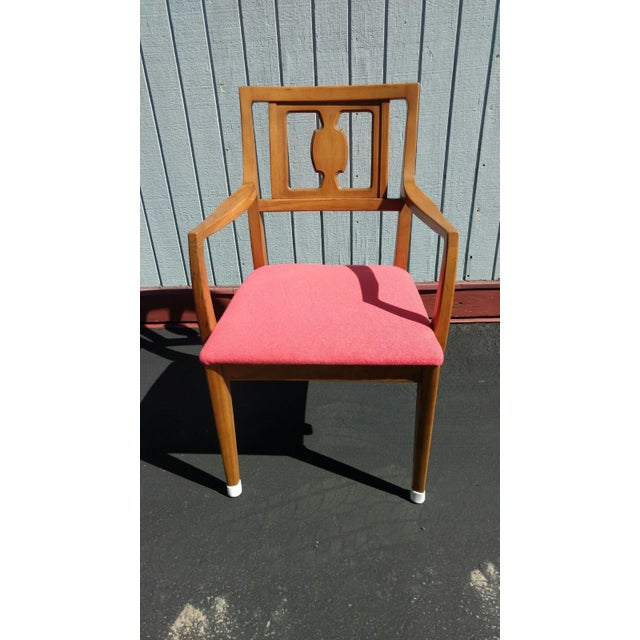Mid-Century Modern Drexel Butternut Dining Chairs - Set of 6From the Meridian Collection for For Sale - Image 3 of 8
