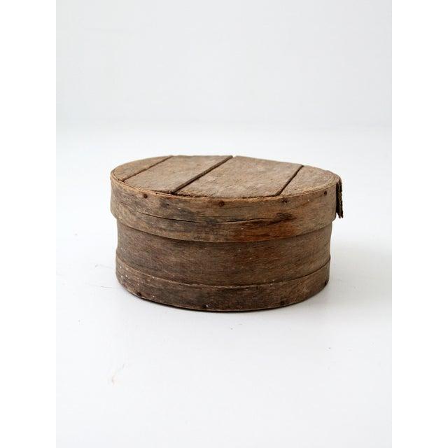 Antique Primitive Cheese Box - Image 4 of 6