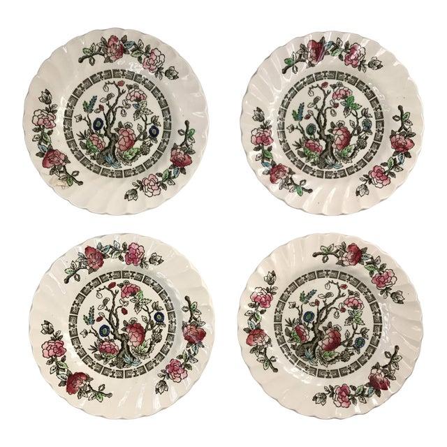 Myott English Staffordshire Bread & Butter Plates - Set of 4 - Image 1 of 5