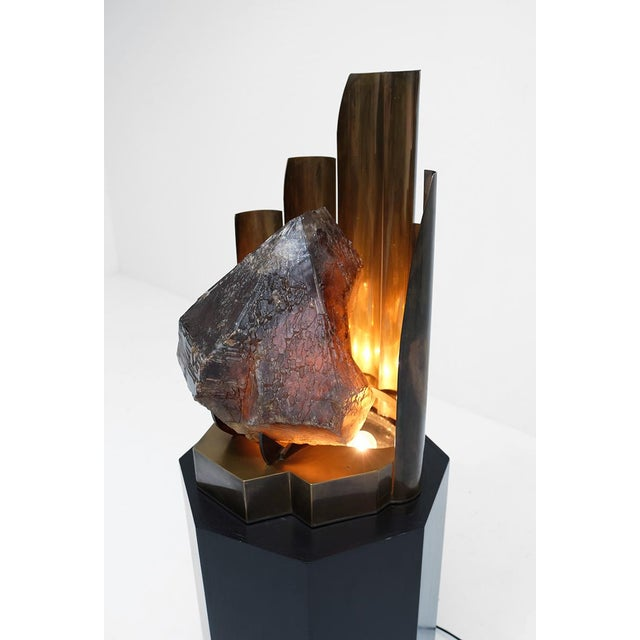 CHRISTIAN KREKELS QUARTZ PROTOTYPE LAMP - Image 8 of 11