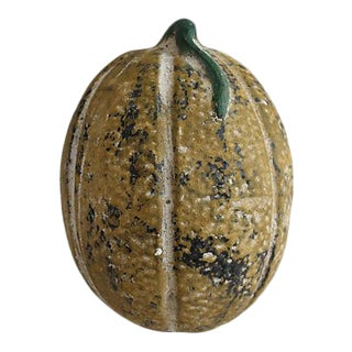 Vintage Terracotta Cantaloupe For Sale