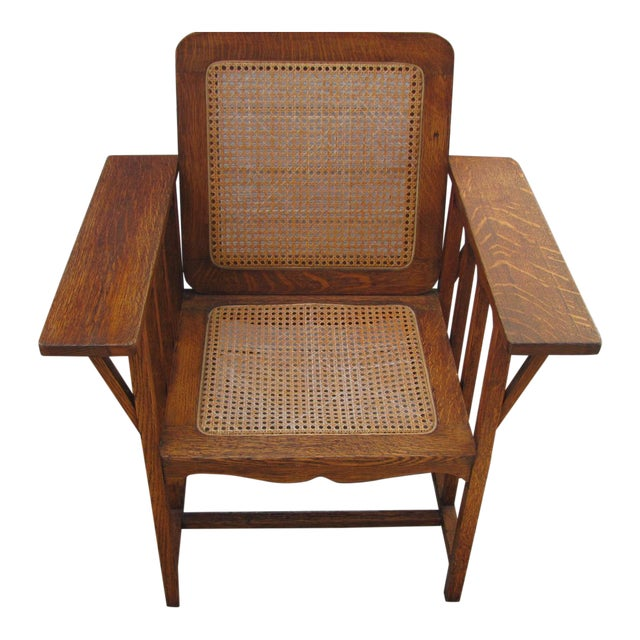 Early 20th Century Vintage David Walcott Kendall Craftsman Kendall Chair For Sale